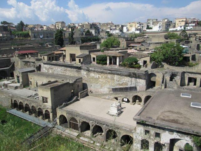Herculano é um dos lugares baratos para viajar