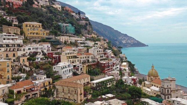 Um roteiro fotográfico pela Costa Amalfitana - Positano