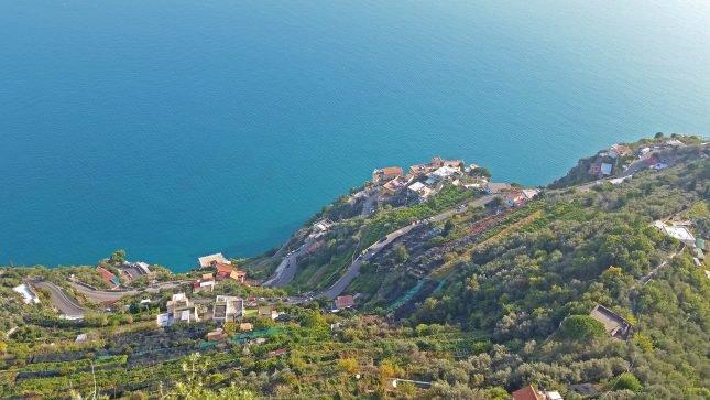 Um roteiro fotográfico pela Costa Amalfitana - Ravello Villa Cimbrone Vista Mar