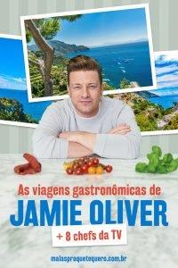 Viagens gastronômicas: reunimos 12 receitas internacionais de Rodrigo Hilbert, Jamie Oliver, Rita Lobo e outros 6 chefs da TV que nos fazem salivar.
