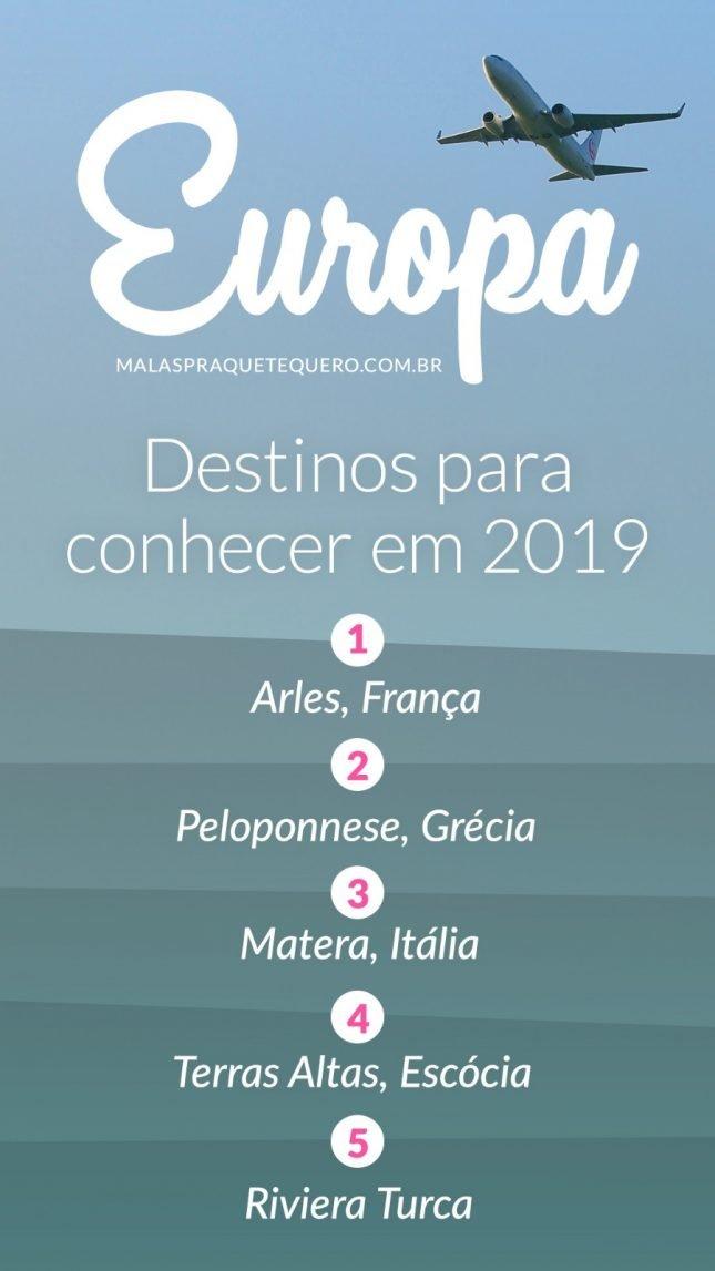 Melhores lugares para viajar: 30 destinos turísticos pra conhecer em 2019
