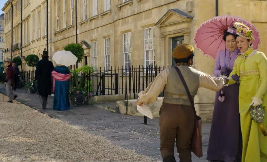 Onde foi gravado Bridgerton: Bath