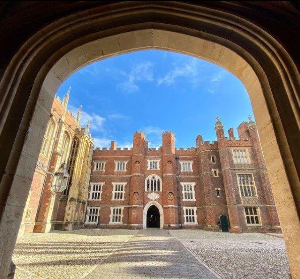 Onde foi gravado Bridgerton: Hampton Court Palace