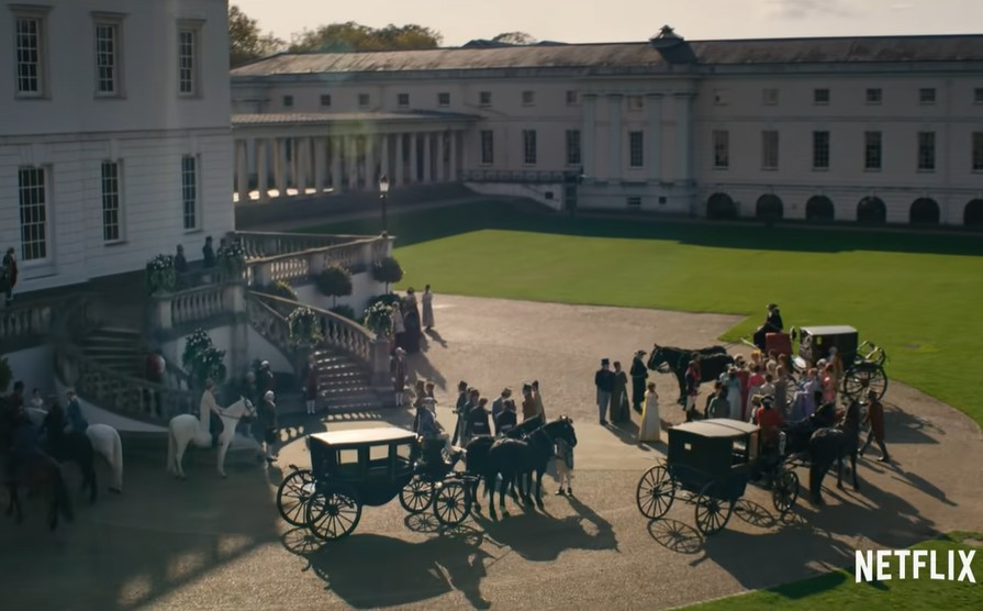 Onde foi gravado Bridgerton: Queen's House